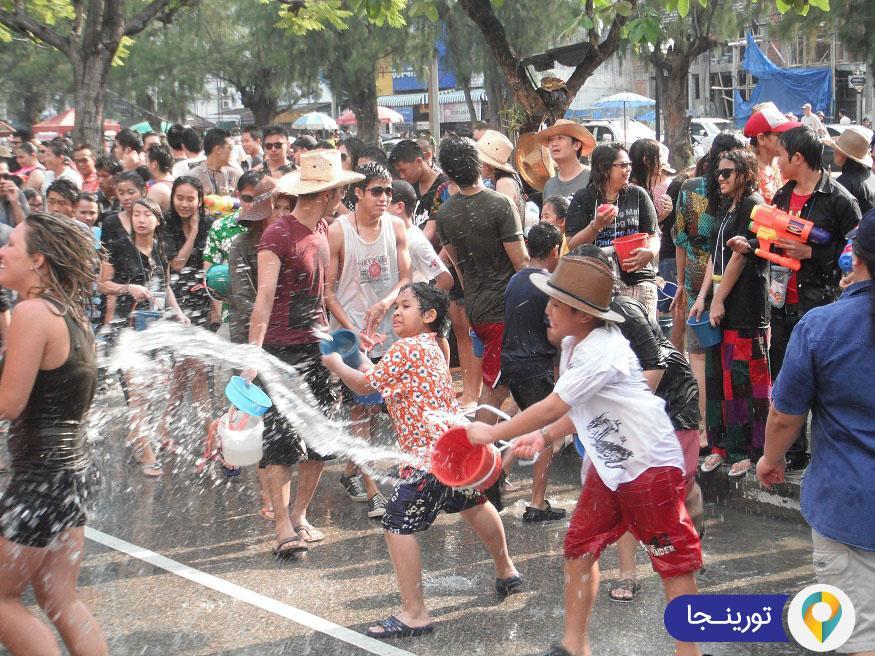 جشنواره سونگکران در تایلند