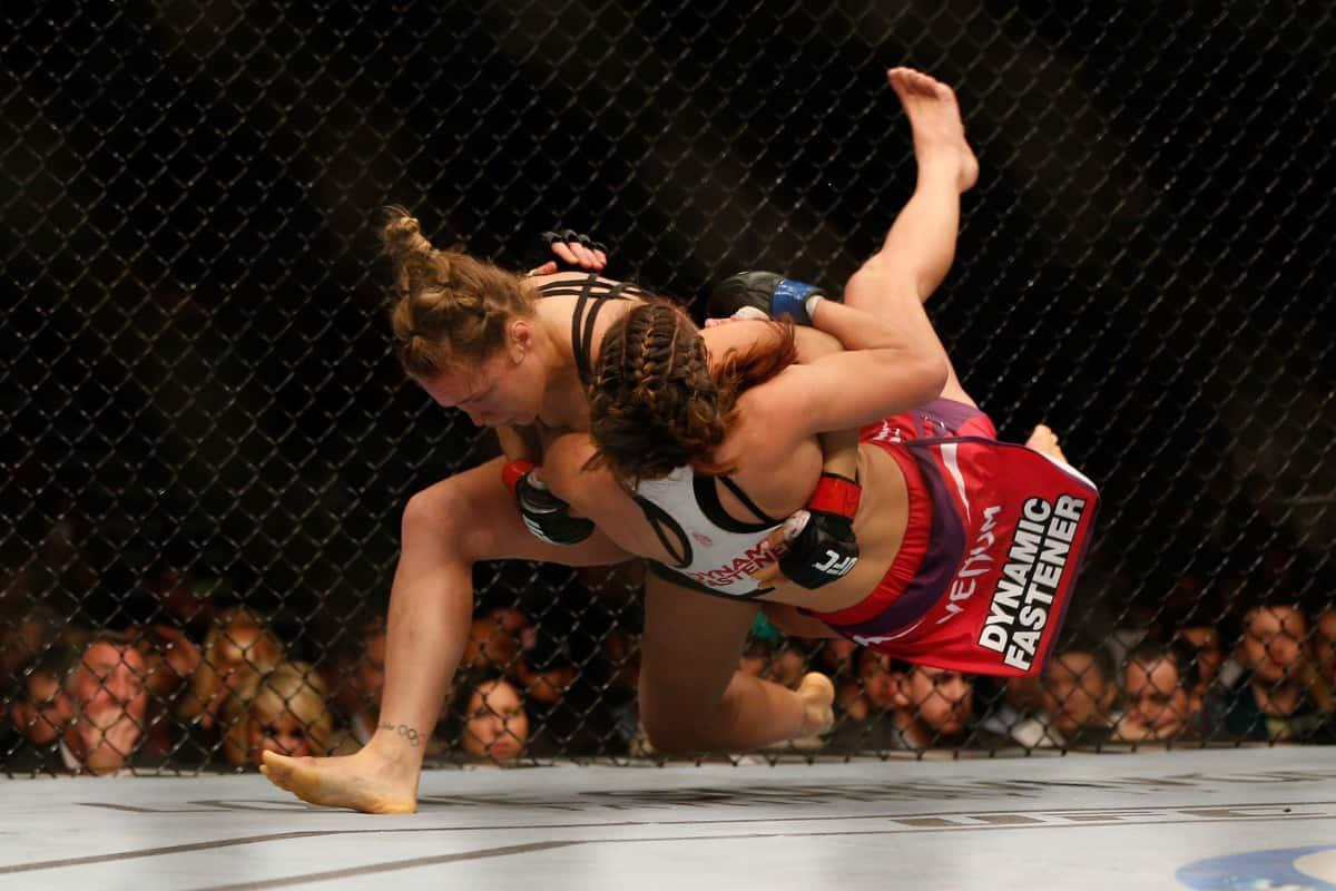 Takedowns or Clinch Fighting style