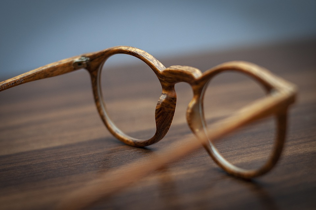 sustainable wooden glasses