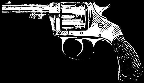 Revolver, Pistol, Cowboy, Gun, Firearm