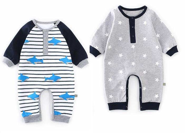 Kombinezon dresowy dla niemowlaka na jesień 2