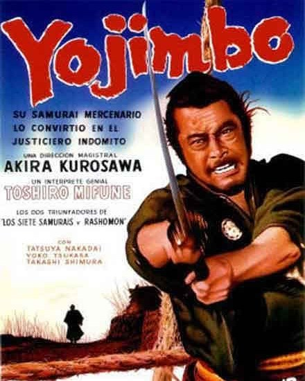 Yojimbo. El mercenario (1961, Akira Kurosawa)