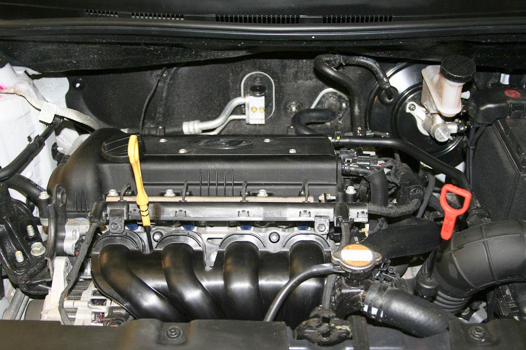 Проверка уровня масла в авто