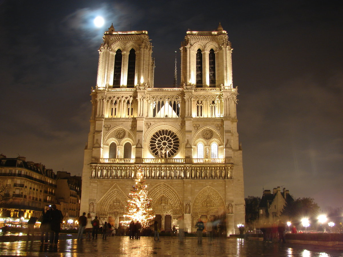Архитектура Собора Парижской Богоматери