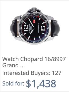 value of watch online chopard