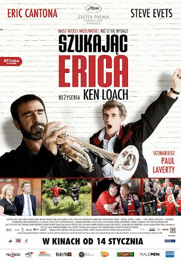 Polski plakat filmu 'Szukając Erica'