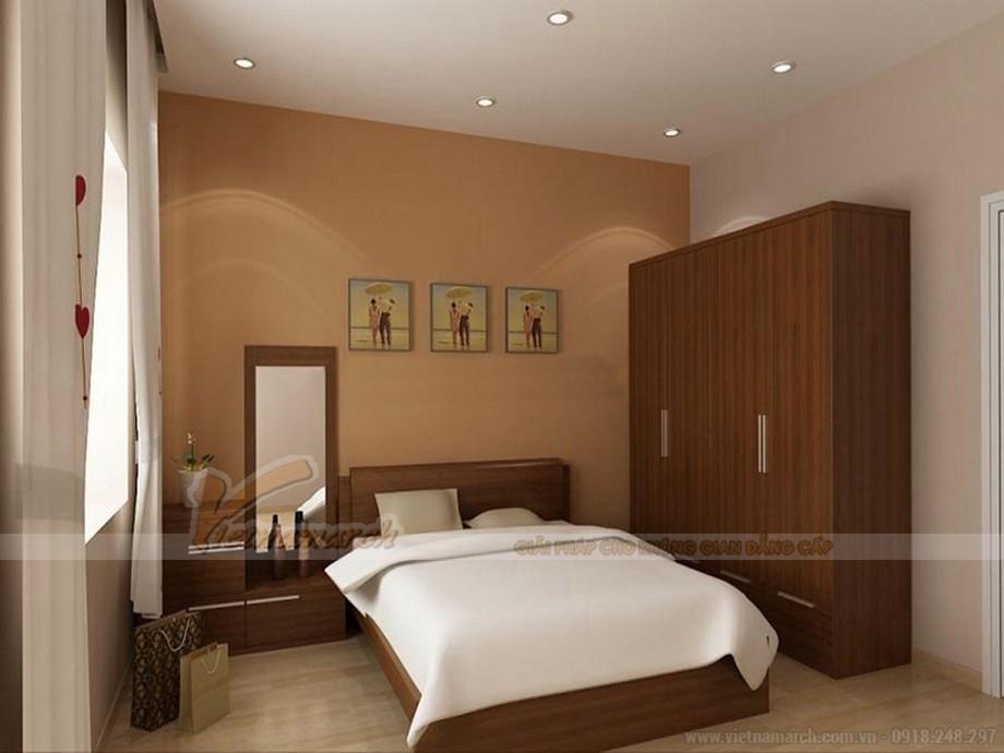 Mẫu trần thạch cao phòng ngủ đơn giản