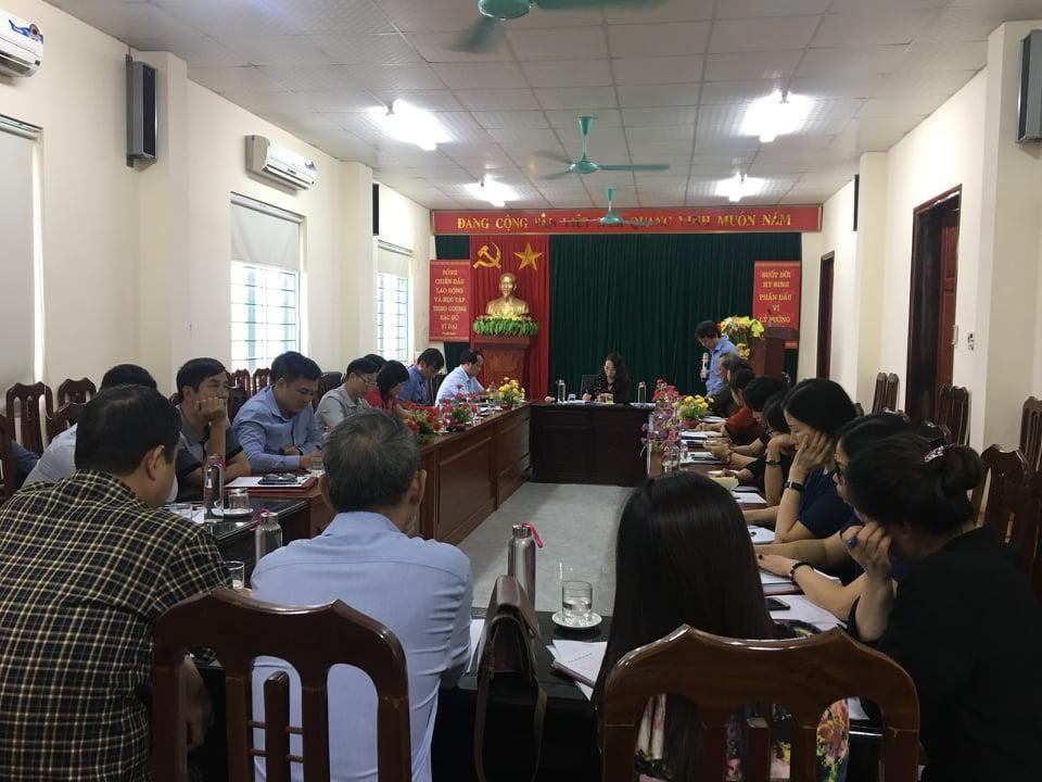 Hội nghị giao ban Qúy III và triển khai nhiệm vụ Quý IV/2020