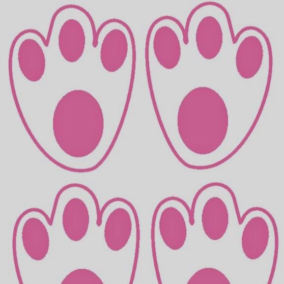 Easy Bunny Feet With Easter Egg Treasure Hunt