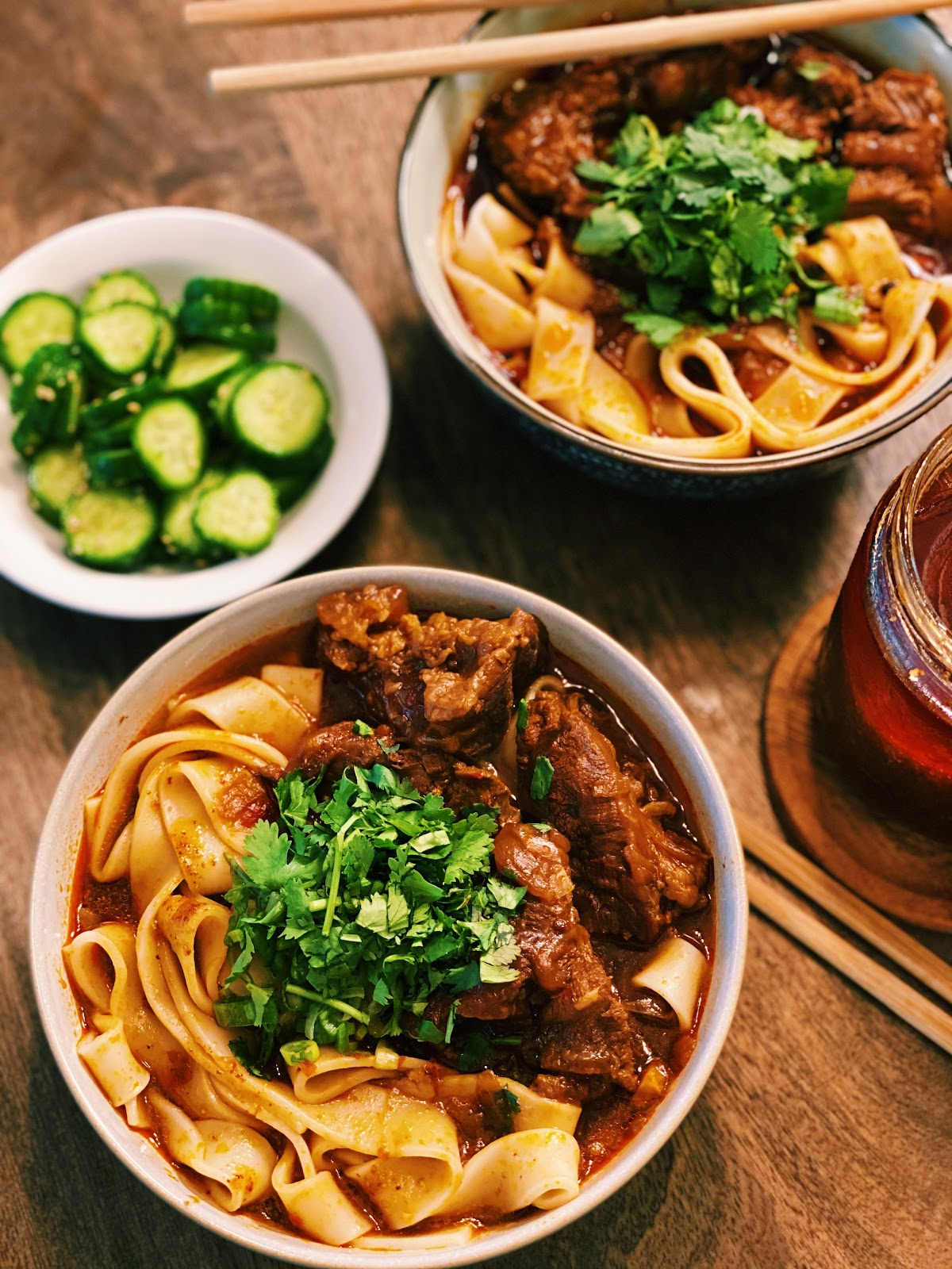 Authentic Taiwanese Beef Noodle Soup