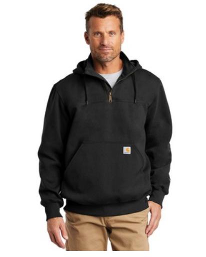 Carhartt® Rain Defender® Paxton Heavyweight Hooded Zip Mock Sweatshirt