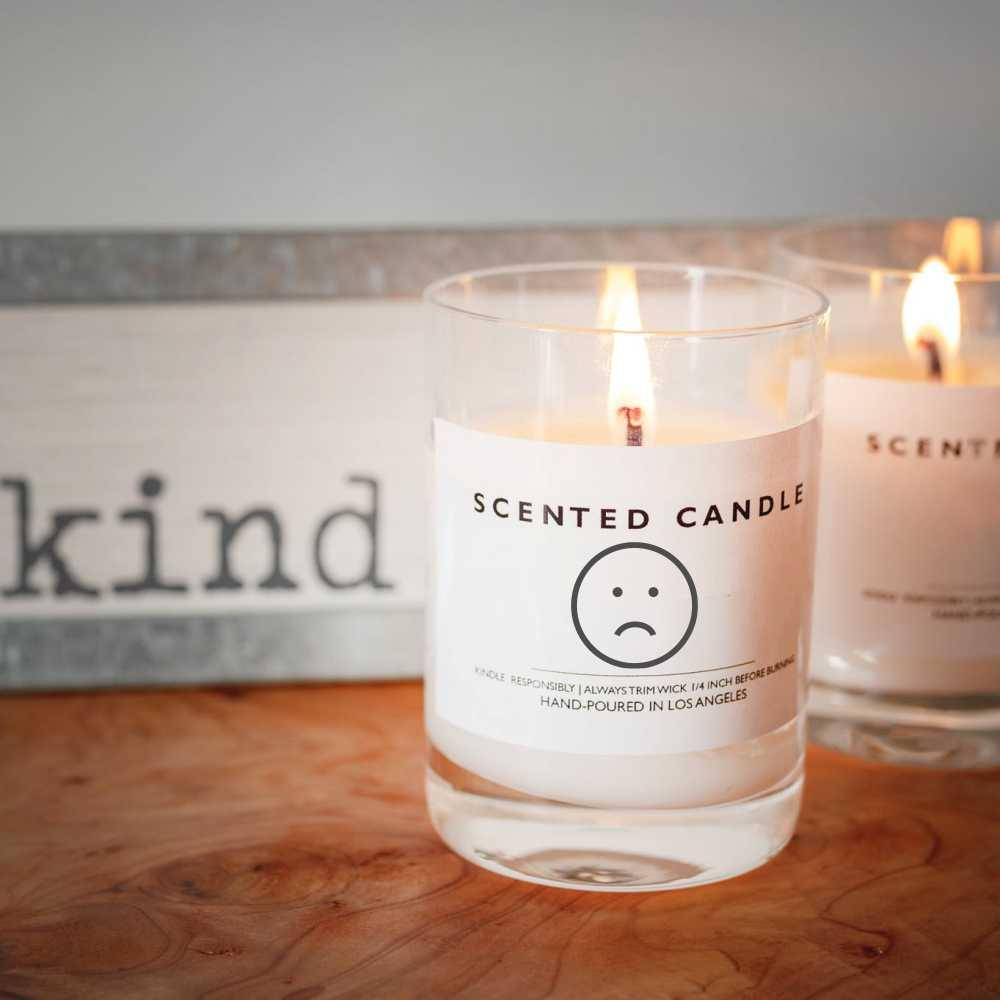 Why doesn't my candle burn as long as it use to?
