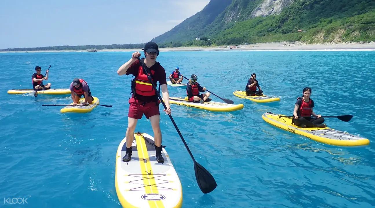 水上活動清水斷崖|SUP 立槳體驗