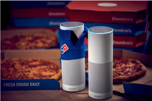 Dominos Voice Search Marketing Trend 2019