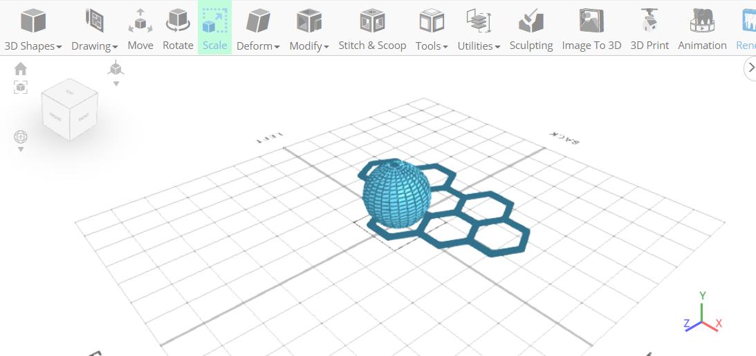 3D designing a Hairpin