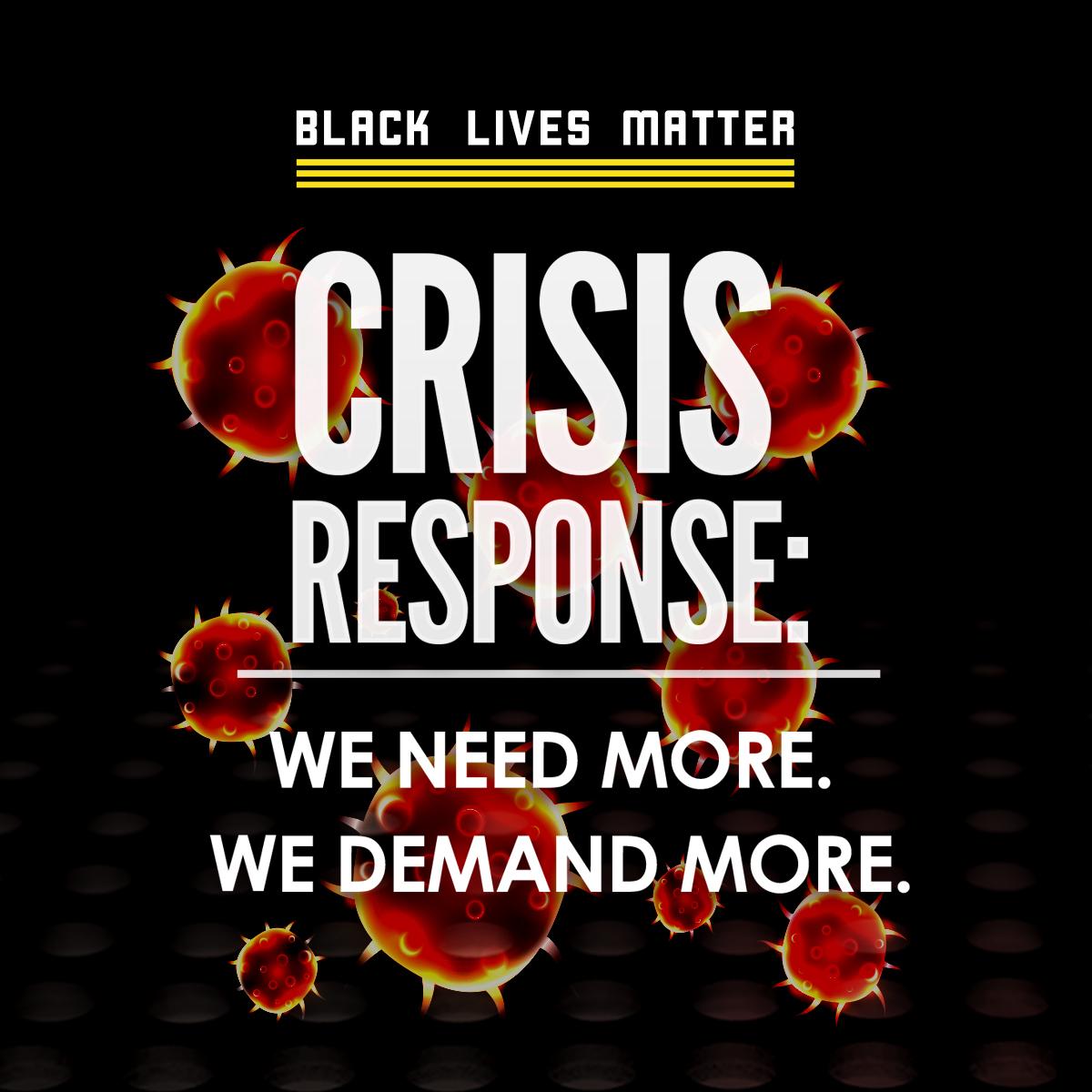 Crisis Response: We need more. We demand more. image
