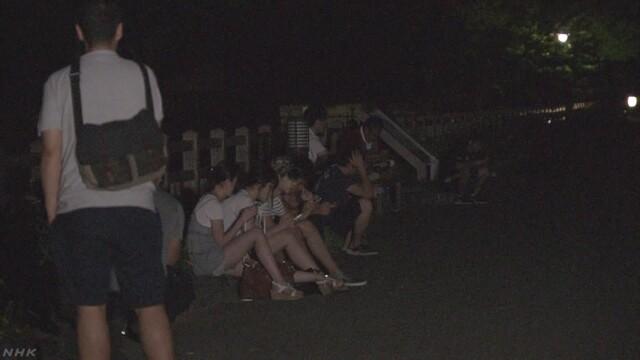 ポケモンGO 公園が閉門し出られず 山形