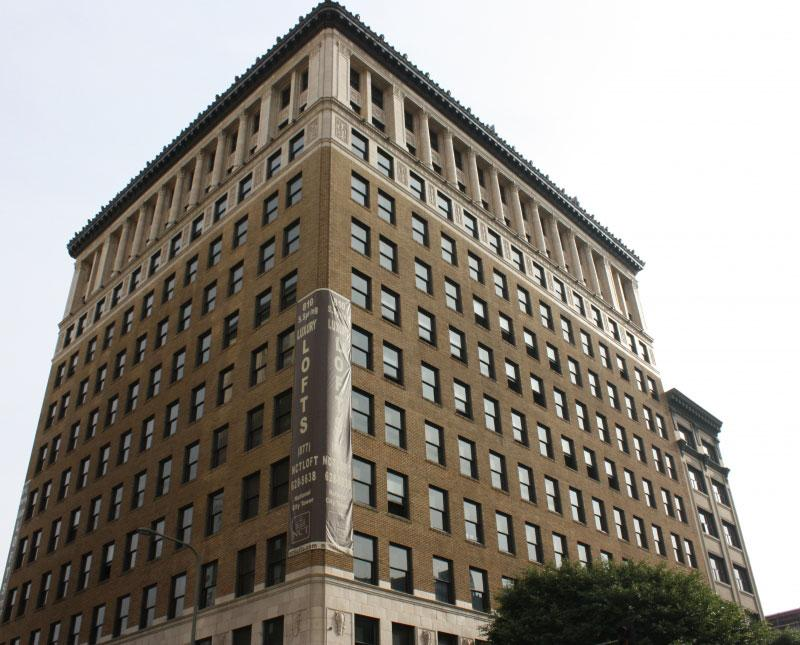Adaptive Reuse in Los Angeles:  National City Tower Lofts
