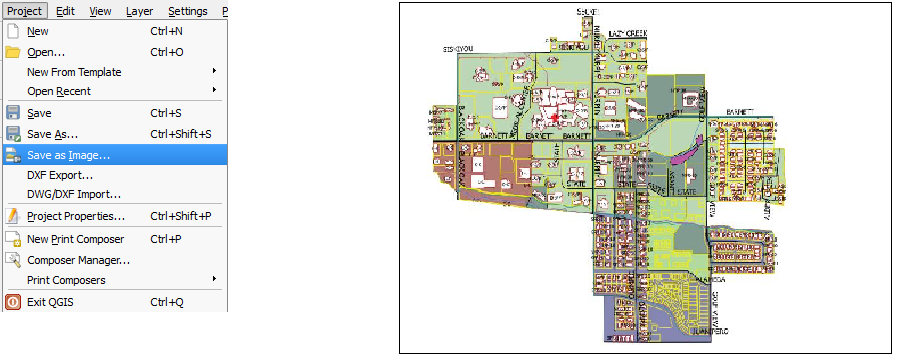 Basics of QGIS Map Composer | kCube