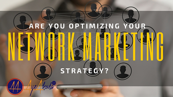 Network marketing strategy