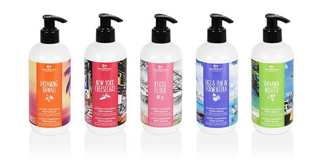 BAJA gama bodyLotions