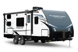 Travel Trailers with Bunkhouses: Keystone Passport