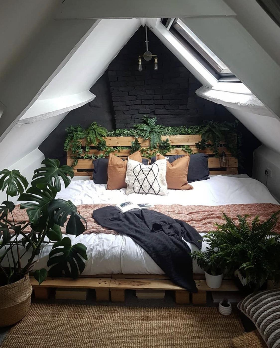 Bring Nature into Your Attic Bedroom