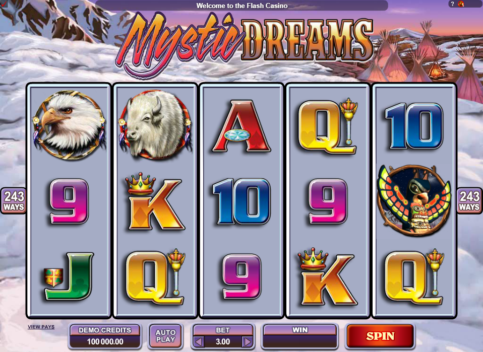 Mystic Dreams Slots Game Review