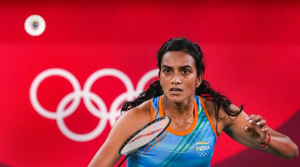 PV Sindhu at the Tokyo Olympics