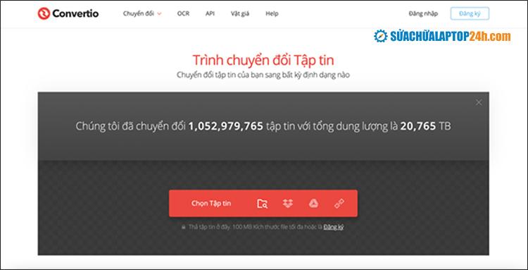 Website Convertio