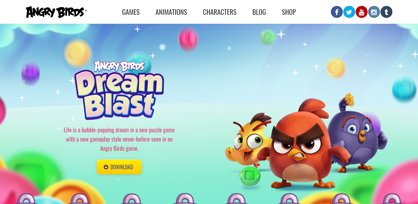 image of angry birds wordpress websites