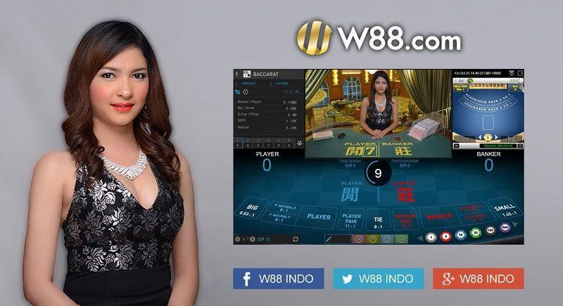 Cách chơi bài online bằng tiền thật tại W88