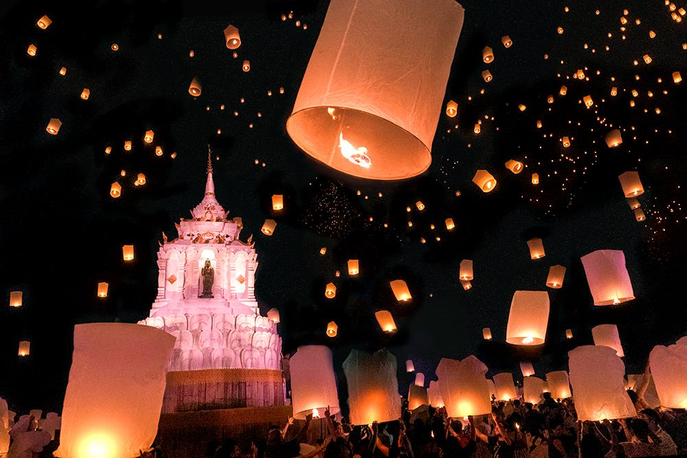 Image result for best places to view lantern festival  images