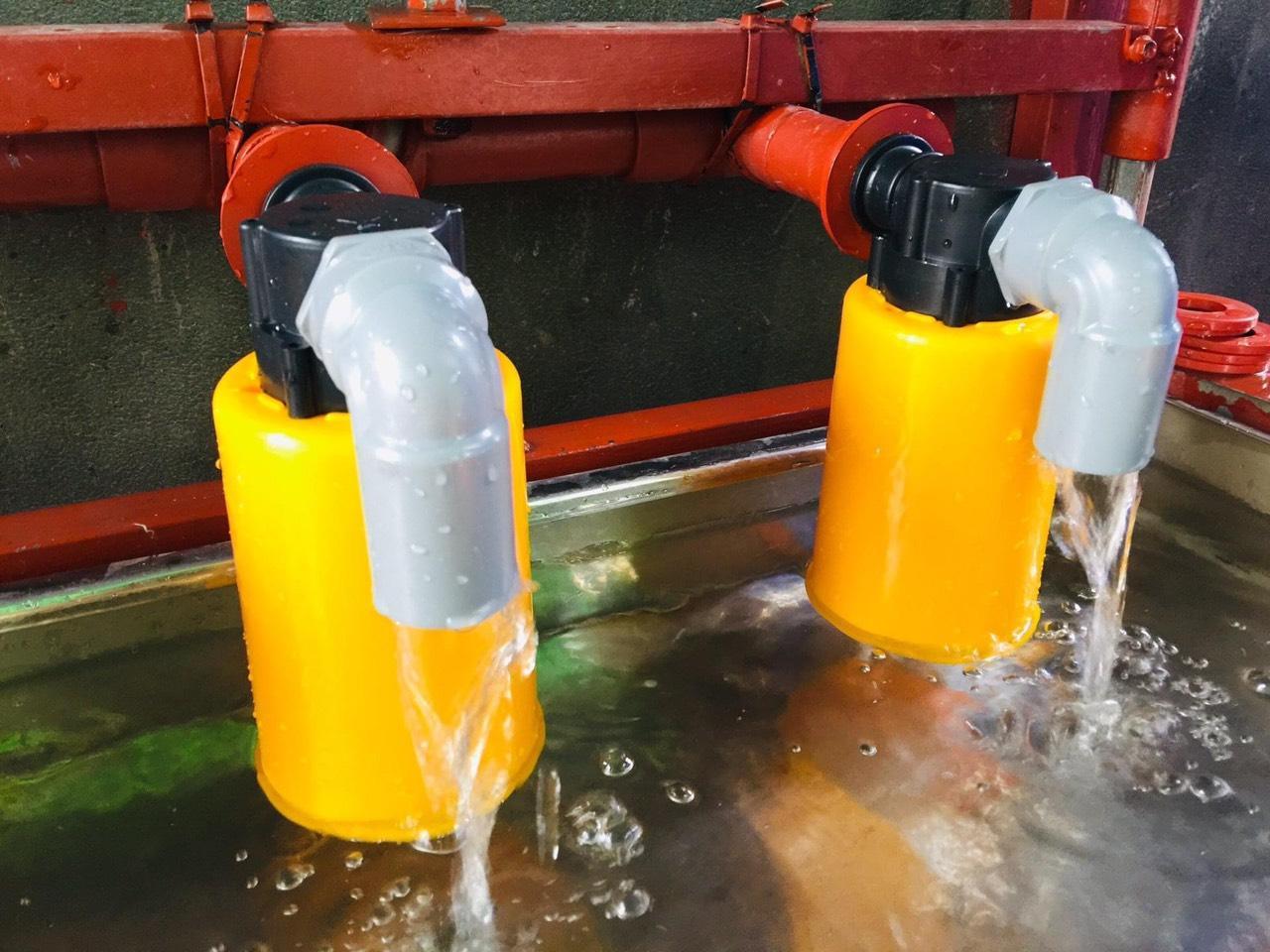 Van phao cơ chống tràn giúp điều hoà nước sử dụng được ổn định hơn