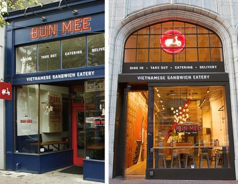 Bun Mee - một cửa hàng bánh mì Việt nổi tiếng ở Mỹ.