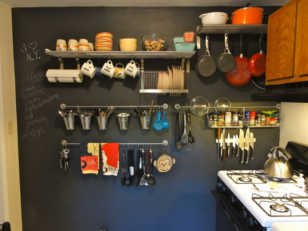 Посуда в одном месте