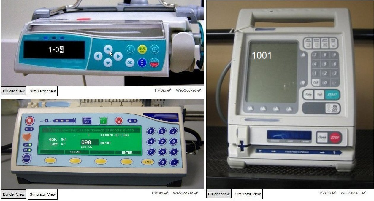 CHI+MED - Verification of User Interface Software