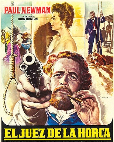 El juez de la horca (1972, John Huston)