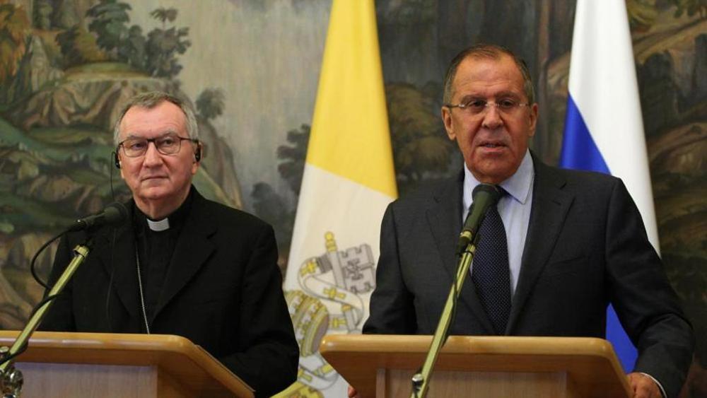 Hồng y Parolin và Bộ trưởng Lavrov, Nga và Vatican cùng nhau chống lại những khủng hoảng toàn cầu