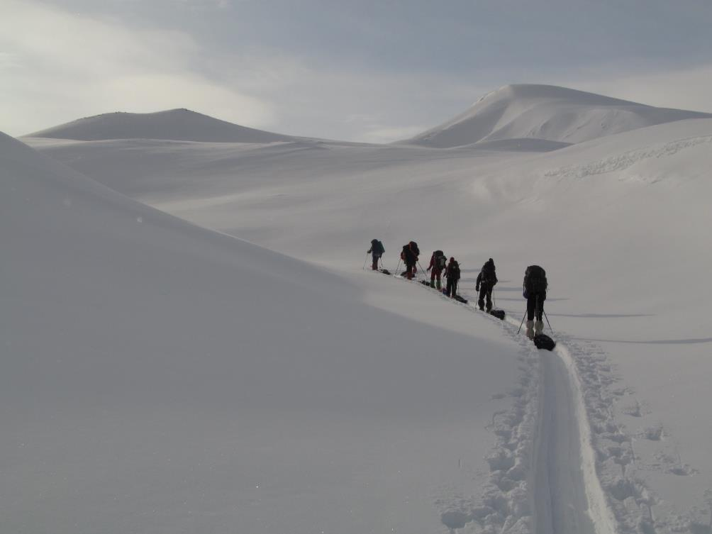 Отчет  о лыжном туристском спортивном походе 4 категории сложности по Северной Швеции