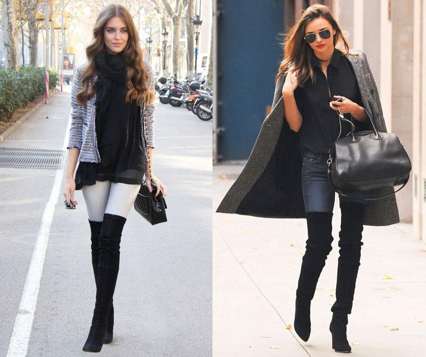 How To Wear Over The Knee Boots   Her Campus