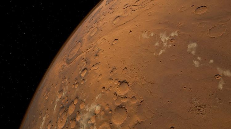 Người dùng trước khi đổ bộ lên hành tinh đỏ sẽ được khám phá 40km vuông bề mặt hành tinh này từ trên cao