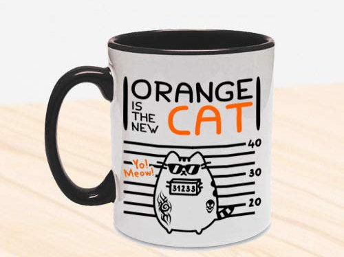 Orange is the New Cat - mug tazza
