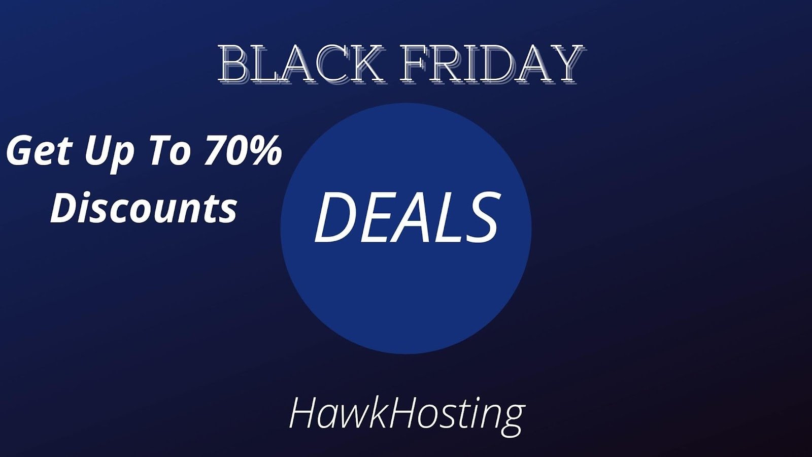 HawkHost -Get Up To 70% Off