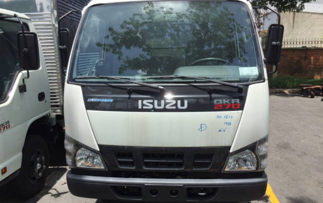 logo của xe tải Isuzu