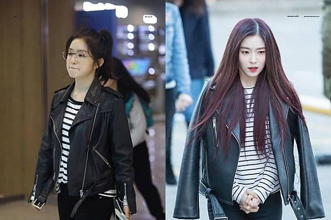 jaket kulit wanita ala korea