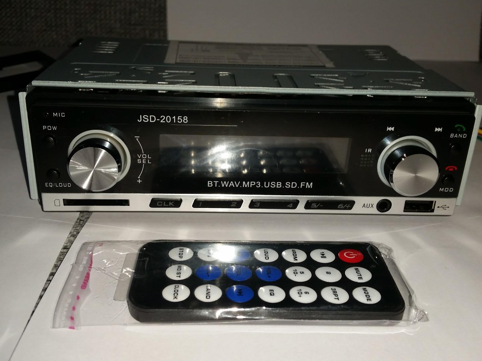 Autoradio Bluetooth Encastré Multifonctions Lecteur MP3 Radio FM entrée Aux Port SD & USB Kit Mains Libres www.avalonkef.com fhg.jpg