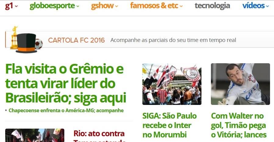 Antes do jogo FlaPress fala em liderança do Brasileirão 2016