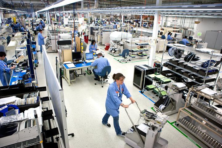 Bố trí nhà máy hiệu quả trong hệ thống sản xuất tinh gọn