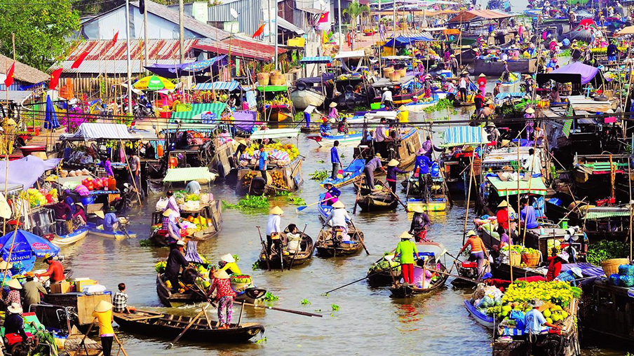 Chợ nổi Trà Ôn - Nét văn hóa truyền thống nơi sông Hậu  - BongTrip.vn